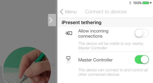 New 'Tethering' feature lets you connect multiple iOS devices